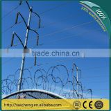 Guangzhou factory Free Samples Galvanized Razor Fencing for Kenya Market