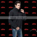 KCFIR far infrared rechargeable thermo clothes with 5200 mah li battery is man ' heated jacket
