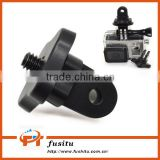 Mini Tripod Adapter Convert Mounts With 1/4 Inch Connector For Gopro Hero 4/3+/3/2/1