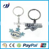 2015 popular high quality metal gun keychain