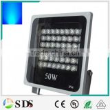 LED Flood Light 50W IP66 High Power Blue Grey led floodlight