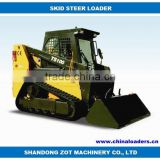 China CE skid steer loader for sale TS100 Cummins diesel engine Imported hydraulic system