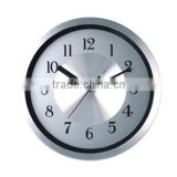 8 inch round metal decorative wall mounted clock, luminous clock
