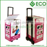 exhibition Carton trolley box with handle                                                                         Quality Choice