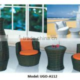 Bali synthetic rattan stackable furniture