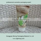 100ml soft LDPE cosmetic tube for body lotions