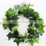 New product direct maufacture atificial ivy rattan raw material for hanging decoration