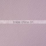 Pink good quality embossed pvc pu thick synthetic leather for handbag, customized color and pattern leather from guangzhou