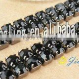2012 lastest rhinestone and black crystal heart bra strap shoulder pads