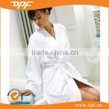 kimono/shawl collar cotton terry cloth bathrobe for home hotel