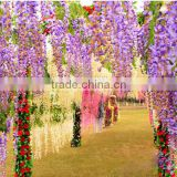 Artificial wisteria tree flower with high quality silk material