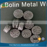 Alibaba China stainless steel compressed knitted wire mesh gasket 0.1mm wire diameter (in stock)