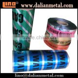 Factory Supply Underground Detectable Barricade Warning Tape