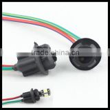 t10 168 194 wiring harness connector plug and play inserted bulb socket soft rubber t10 bulb holder adapter