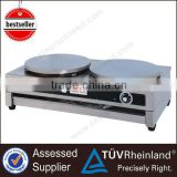 Quality 400mm Hot Plate Industrial Double Electric crepe maker machine                                                                         Quality Choice