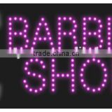 LED Sign for Hair Salon advertising sign for the beauty salon nail shops OEM is welcome
