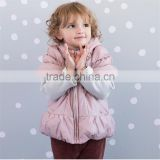 Infant clothing china pink baby girls jackets