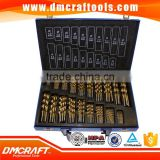 170 pc HSS Drill Bits Set 1-10mm 170pcs Quality Drill bits in Metal Case                                                                         Quality Choice