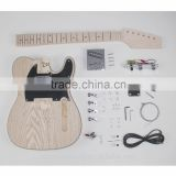 Wholesale high quality electric guitar DIY electric guitar kits