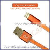 Candy Color Metal Aluminium Driver Download USB Data Cable for iPhone Cable