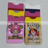 Cheap Printing mobilePhone Back Sticker Microfiber PVC Phone Card Sticker