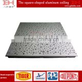 Design aluminum perforated metal frame suspended ceiling