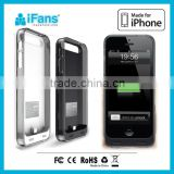 MFi charger for apple iPhone 55s booster battery power case with 2200mAh original connector