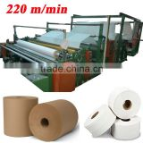 Italy German Design 2900mm Embossing Printing Laminating High Speed Automatic Jumbo Roll Tissue Rewinder Machine