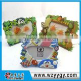 New soft pvc promo magnetic photo frame, plastic photo frame, photo frame