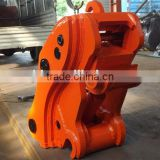 ISO factory send manul or hydraulic excavator quick hitch,hitachi excavator quick hitch