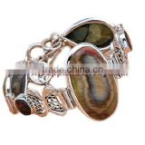 Wholesale!! Sterling Watch Gold Jewelry Making Supplies Silver Bangle Bracelets Wholesale