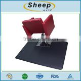 Anti slip waterproof foam pvc floor anti-fatigue barber chair mat