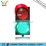 Shenzhen LED Factory 400mm Driveway Cross Traffic Red Green Signal Light