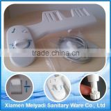 Easy install non electronic plastic cleaning portable toilet seat bidet