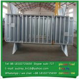 USA widely used venue crowd control fence galvanized steel portable road barrier for sale