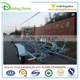 5800 hot dipped galvanized boat trailer with kit and roller