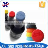colorful hot sell silicone beer bottle lid can lids