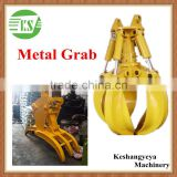 Rotating Grapple Hydraulic TImber Crane Grab