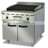 stainless steel Electric Lava Rock Grill with Cabinet(EB-889)