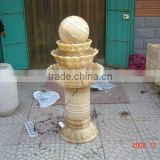 Low price Garden Honey Onyx Fountain Ball