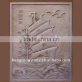 Sandstone Wall Relief Carving