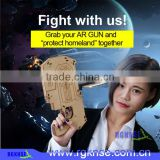 2017 China facotry directly template AR-Gun interactive virtual reality experience Multifunction phone gamepad toys gun