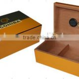 Cigar Humidor Cedar Wood Hold 25 Cigars High Gross Finish