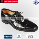 Military Army Genuine Leather Black Office Shoes for men dress shoes