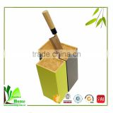 2016 Hot selling bamboo fork and knife holder