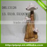 Factory Selling Antique Small Glazed small Ceramic mushroom