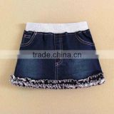 mom and bab 2015 baby clothes 100 cotton baby gril denim skirt