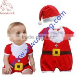 Christmas Xmas Baby Boy Girl Kids Fancy Dress Costume Santa Claus Clothes