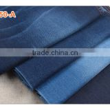 High quality best price cotton polyester stretch slub bull denim fabric for girls' jeans and shorts