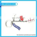 new custom design keychain/high quality keychain manufacturer / metal,pvc,car logo keychain